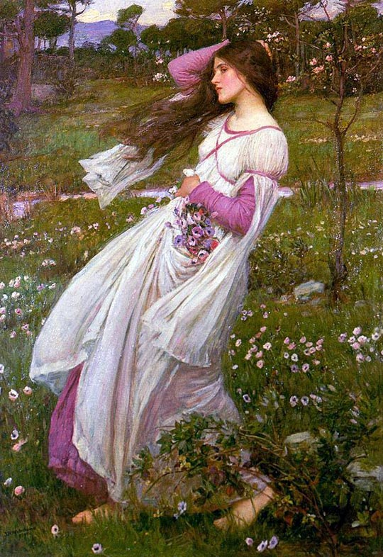 waterhouse_windflowers