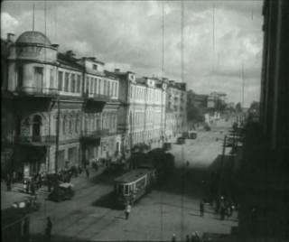 Трамваи на Ленина.