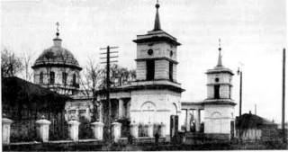 Спасская церковь. Уфа
