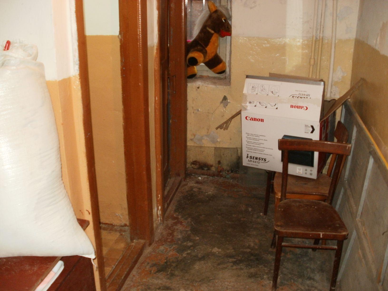 Туалет Клуба Сталинград подвал Дома Павлова 1