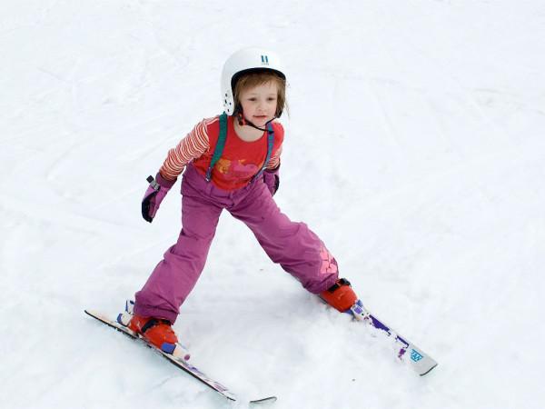 зимний спорт и дети