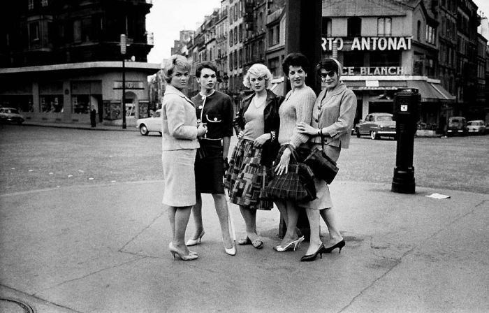 парижские проститутки 50-х