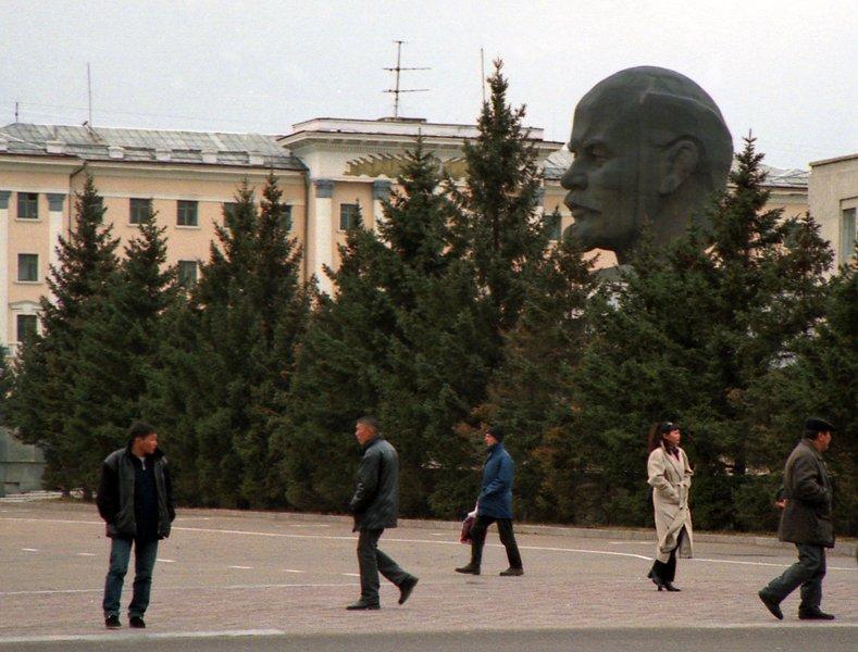 голова у Улан-Уде