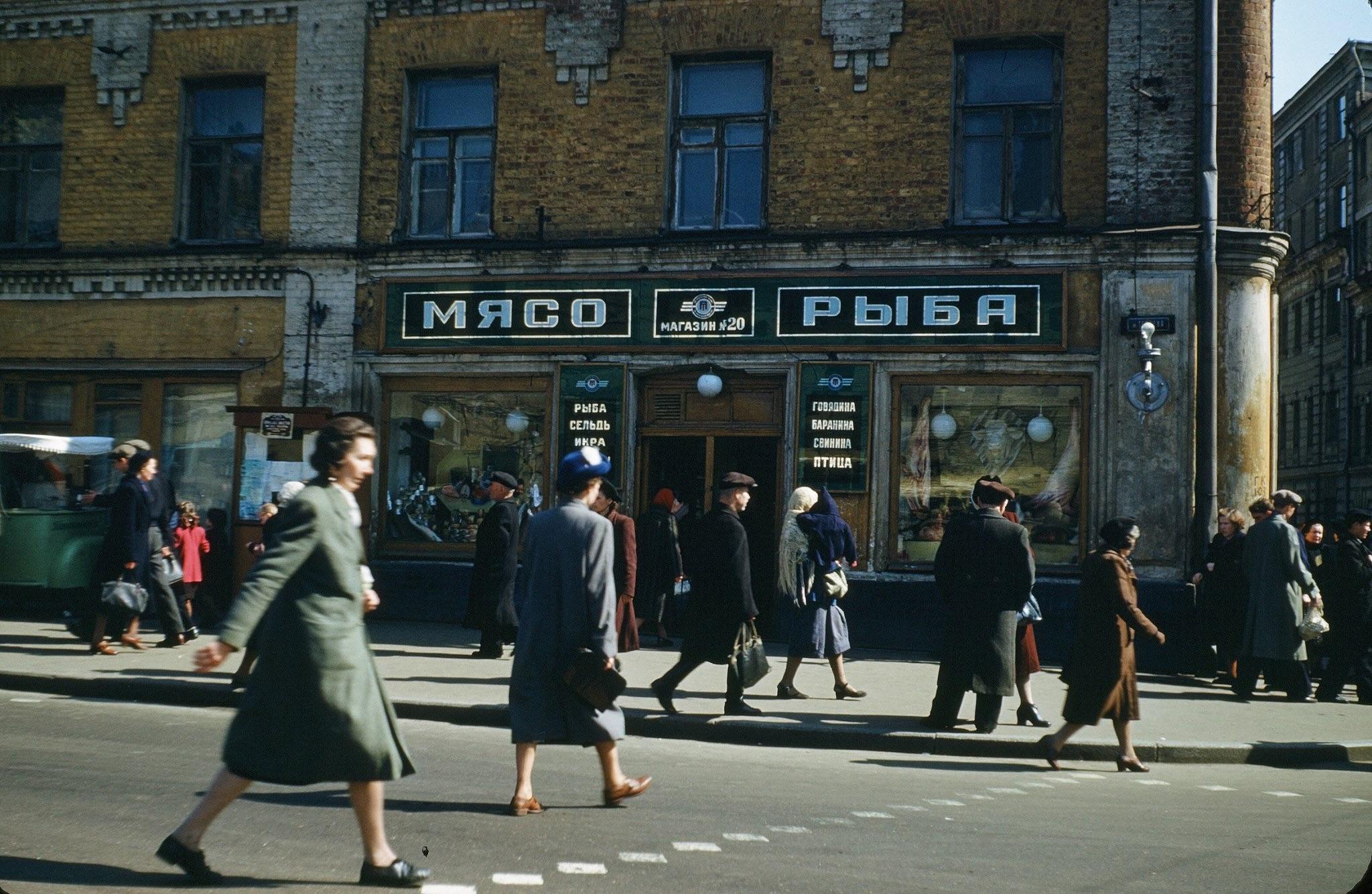 Шпионские страсти, 1950-й