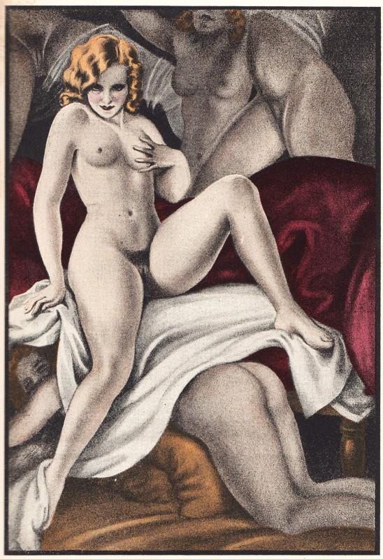 Erotic Art Versus Pornography