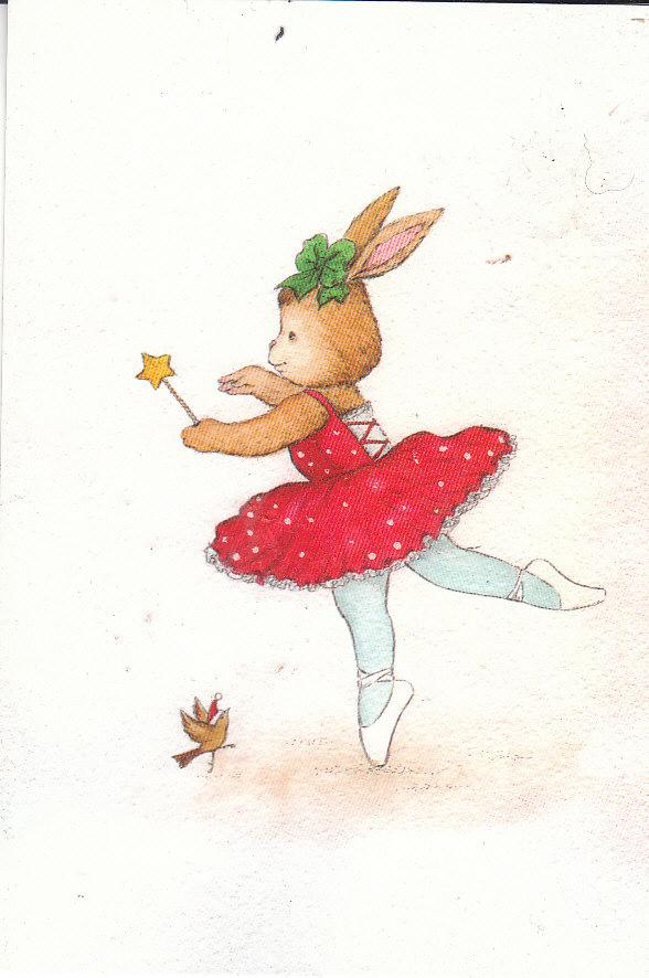 Новогодние открытки балерина, доктор открытки