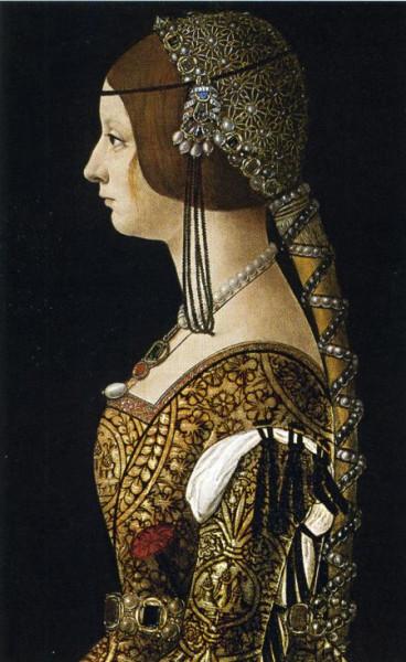 Средневековый женский костюм картинки