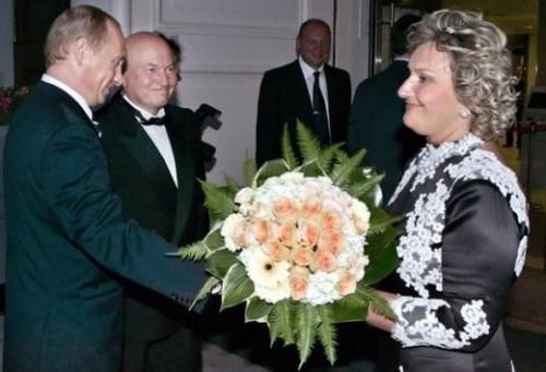 Батурина и Путин