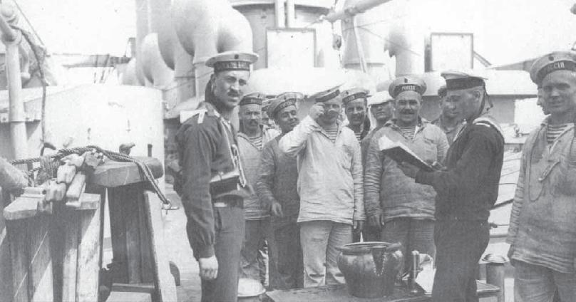моряци царской россии пьют водку