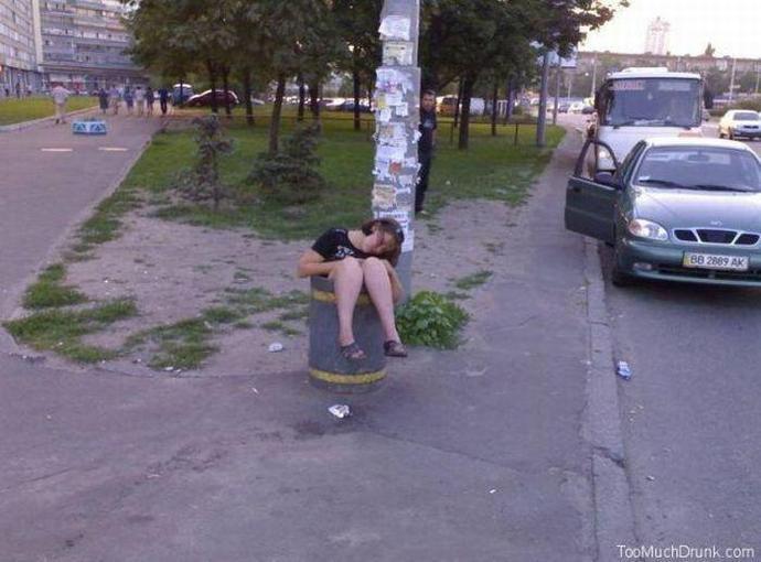 Пьяные на Украине