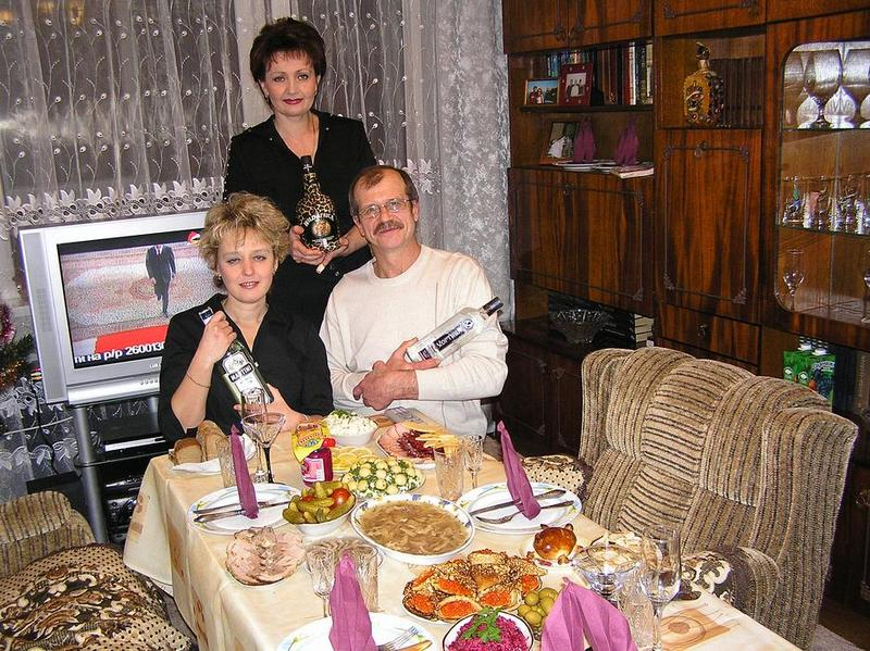 празднование Нового года на украине