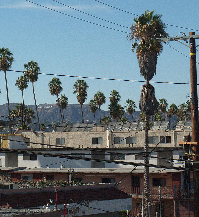 лос анджелес, Hollywood sign