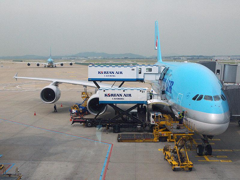 Airbus, A380, korean air