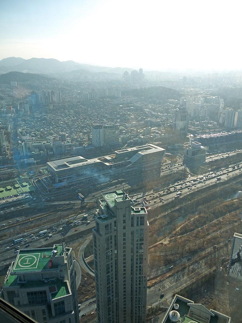seol, сеул, корея, панорама