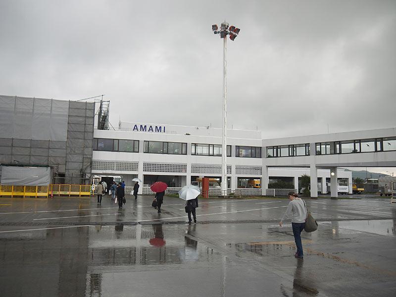 япония, остров Амами, аэропорт