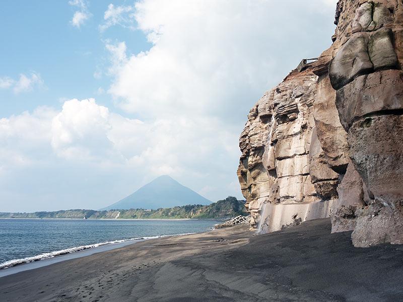япония, onsen, онсен, Sayuri Onsen , ibusuki, ибусуки, кагосима, kagoshima, Kaimondake, побережье