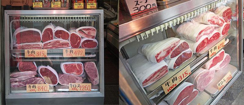 токио, мраморное мясо, цукидзи, рынок