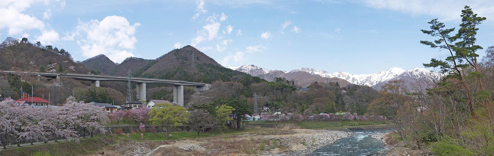 Минаками, Япония, Suwakyo Gorge