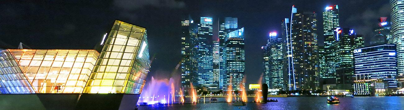 сингапур, ботанический сад, gardens by the bay,Cloud forest