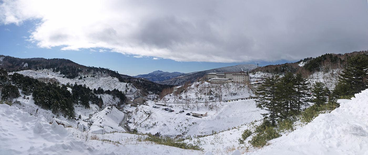 япония, манза онсэн, manza onsen, winter, зима, снег, горы