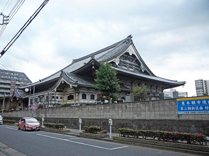 япония, буддистский храм, Токио,храм, Higashi Hongan-ji