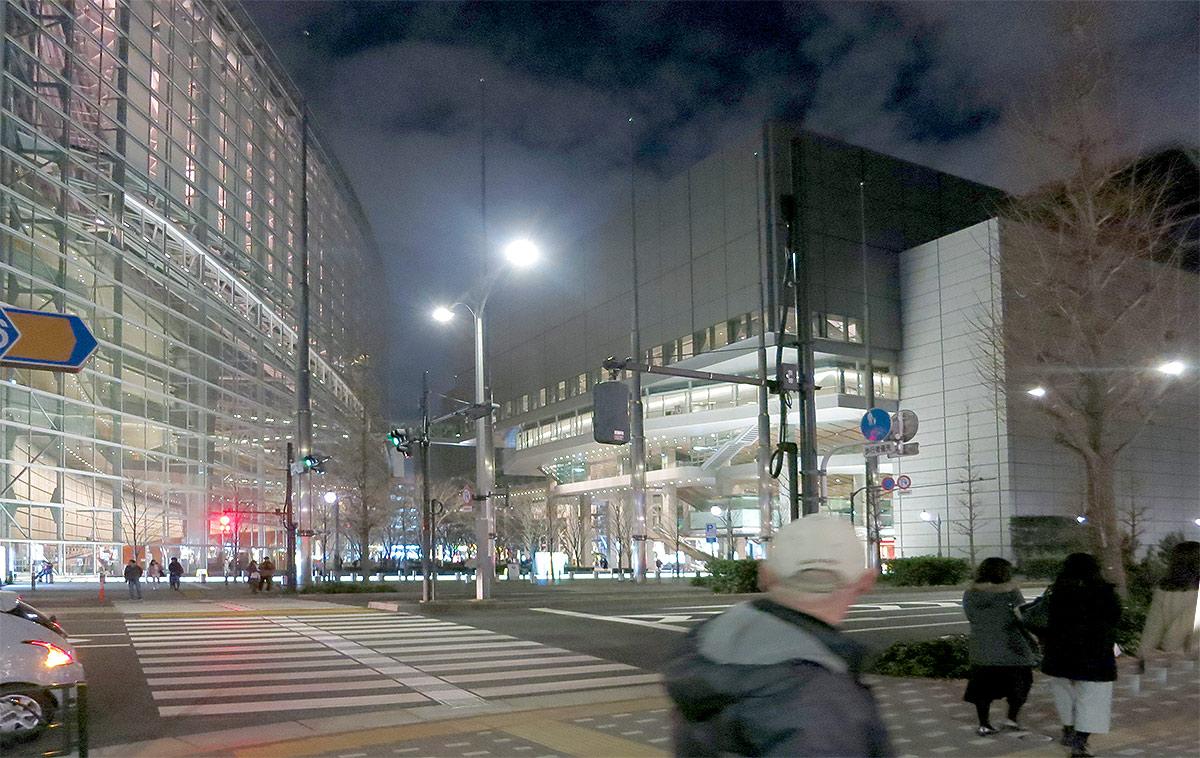 Токио, tokyo, stret, Маруноути, Маруноучи, новый год, иллюминация, kokusai, international forum