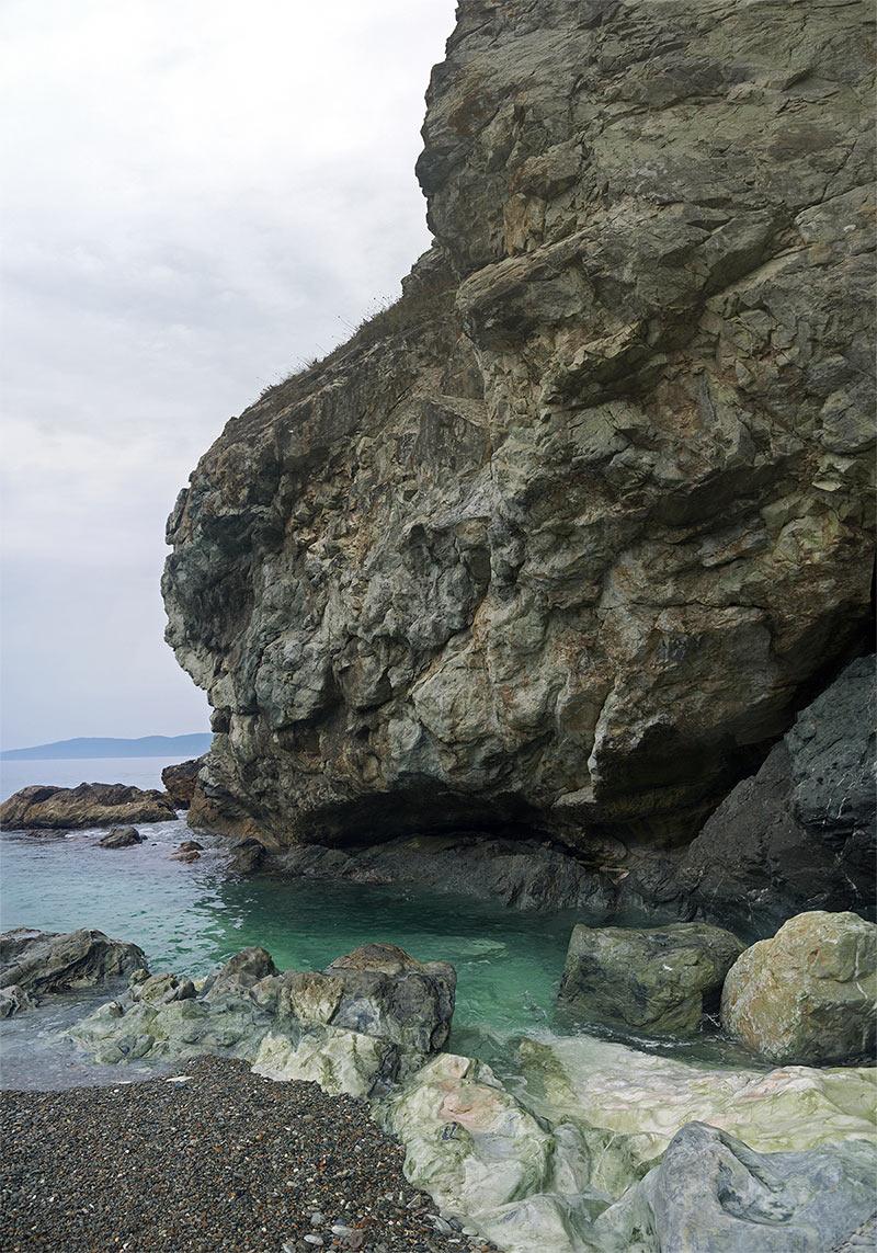 остров Путятина, приморье, бухта Мраморная