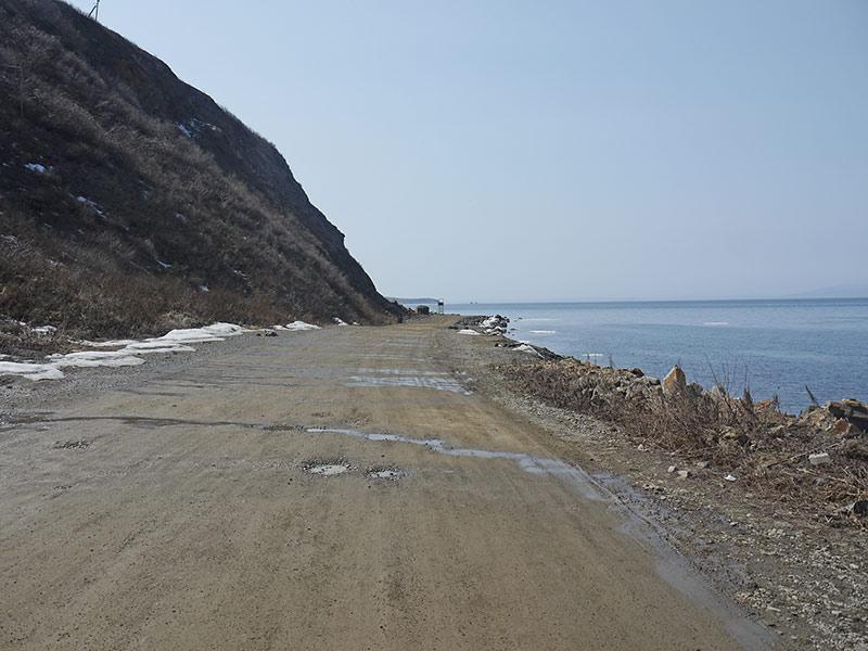 владивосток, эгершельд, берег