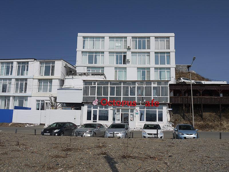 владивосток, эгершельд, ресторан Октопус, морепродукты