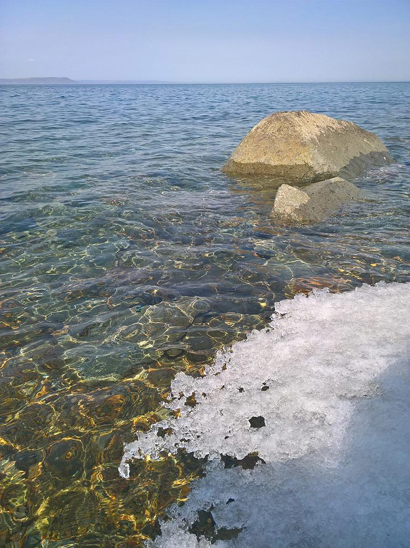владивосток, эгершельд, берег, лед