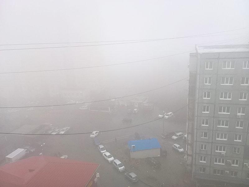 владивосток, туман
