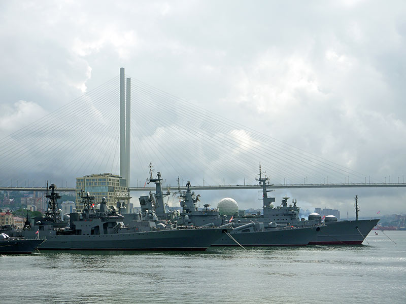 владивосток, золотой рог, бухта, утро, военные корабли, бпк, 564