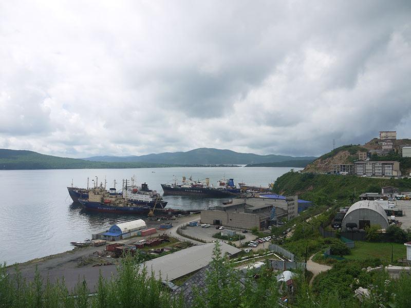 владивосток, золотой рог, корабли, ледокол