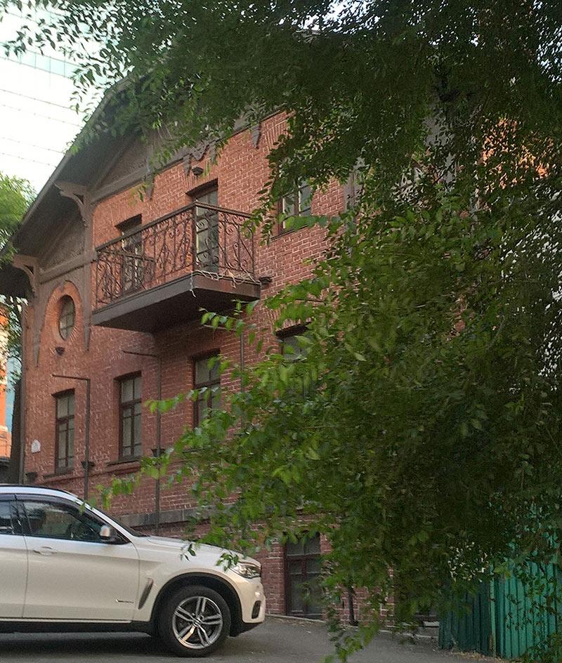 владивосток, старый дом