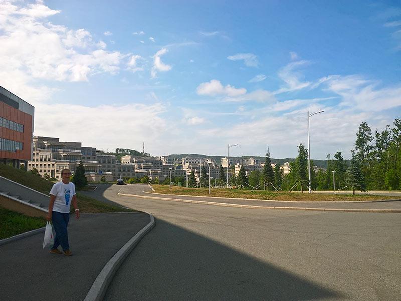 владивосток, кампус, ДВФУ, парк, остров русский