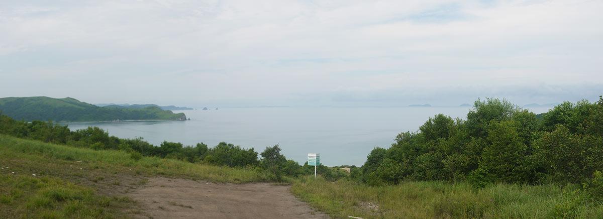 владивосток, панорама, бухта витязь, полуостров гамова, бухта Астафьева