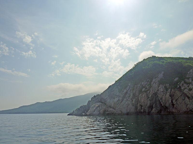 владивосток, приморье, бухта витязь, берег, мыс Шульца, побережье