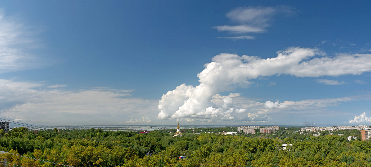 хабаровск, наводнение