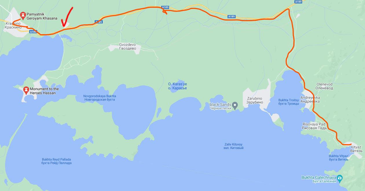 приморье, хасан, хасанский район, залив, карта, озеро лотосов