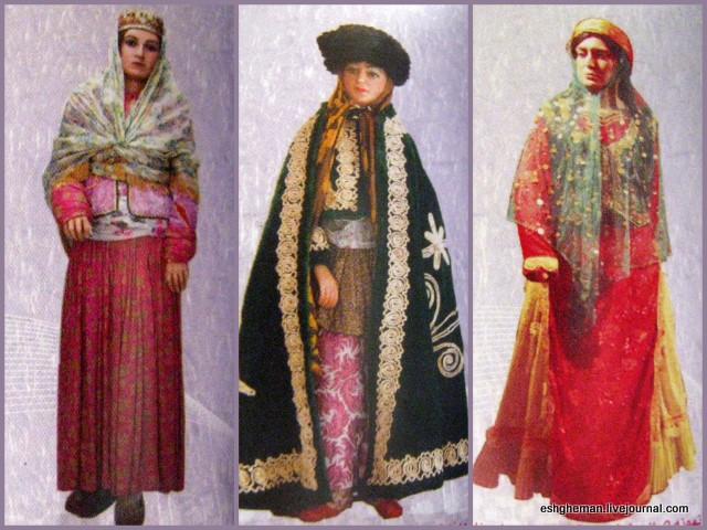 Iranian traditional women clothes different regions - Life ...