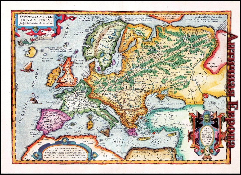европа 14 век