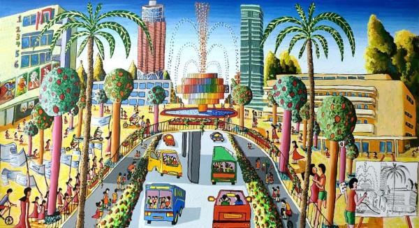 naive_art_by_raphael_perez_tel_aviv_israel_painter