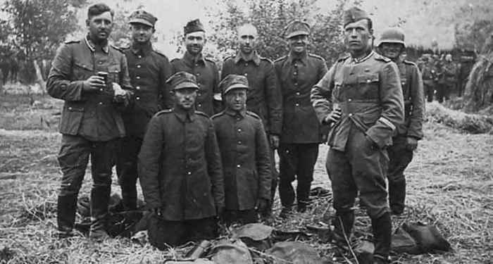 Польские военнопленные 1939