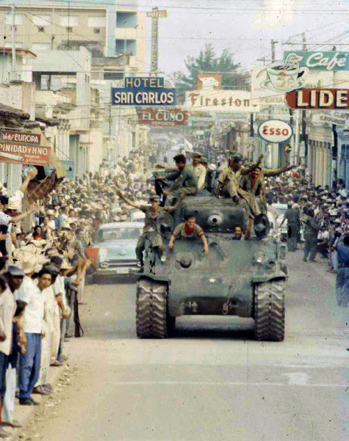 Cuban Revolution in Color Photos, January 1959 (1)