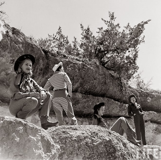 American Cowgirls of the 1940's (3)