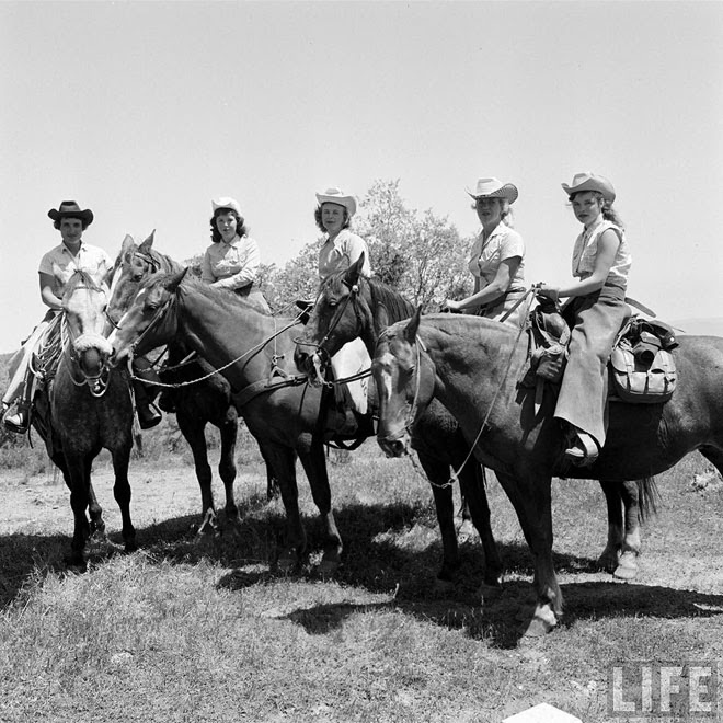 American Cowgirls of the 1940's (4)