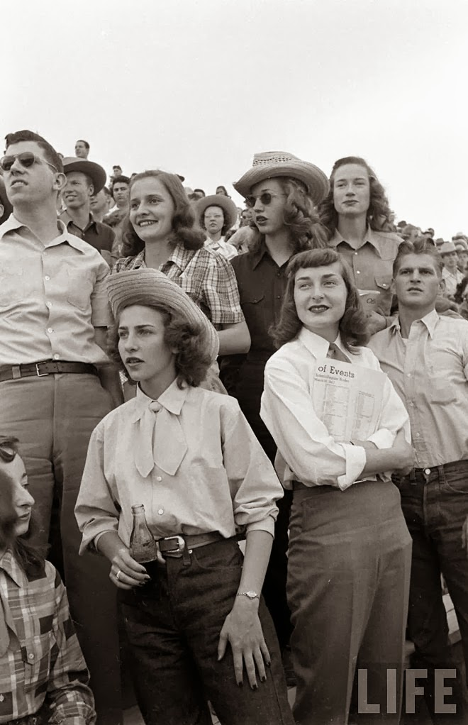 American Cowgirls of the 1940's (5)