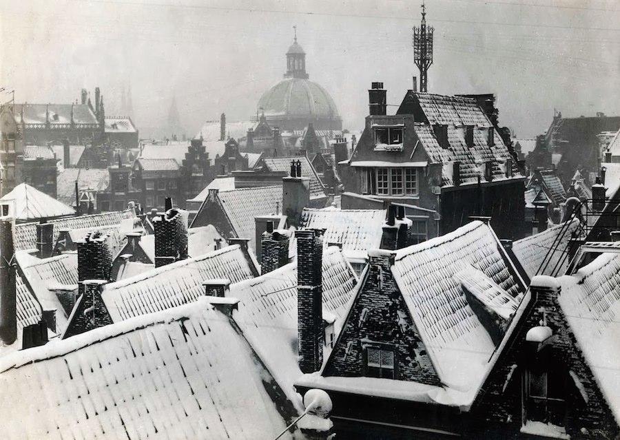 Winter in Amsterdam, 1917 (2)