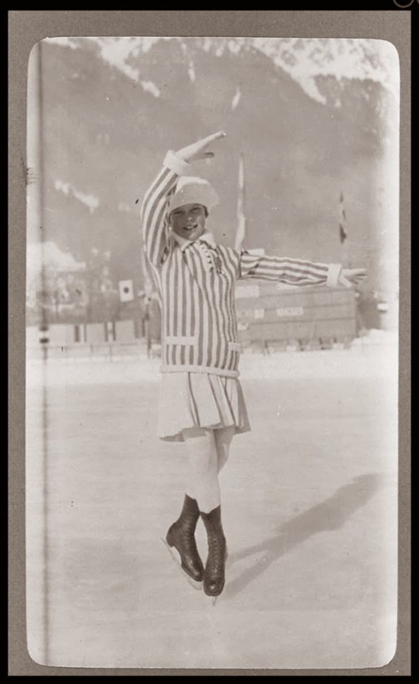 The Athletes of the First Winter Olympics in 1924 (12)