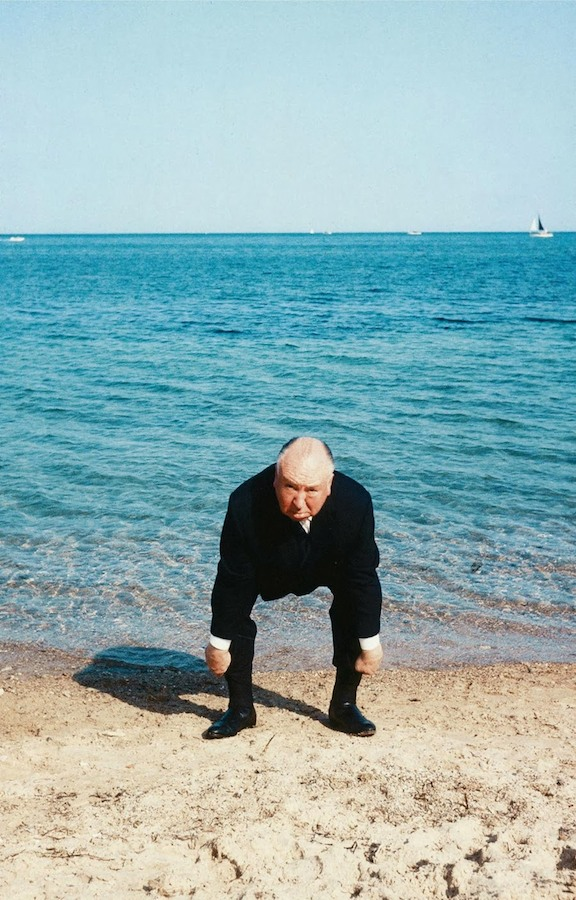 Alfred Hitchcock during the 1963 Cannes Film Festival (1)